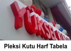 Bursa Pleksi Kutu Harf Tabela